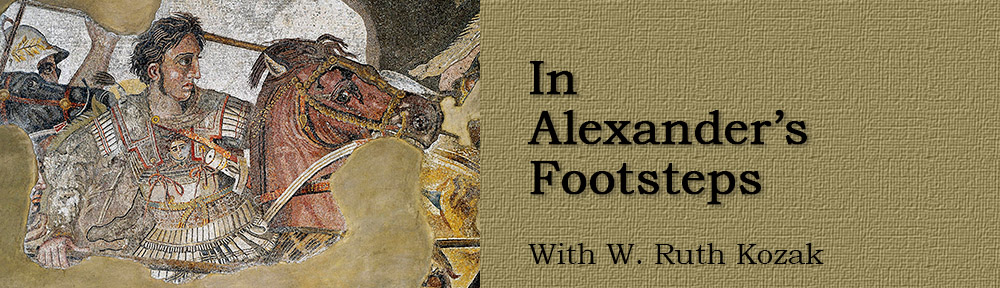 In Alexander's Footsteps